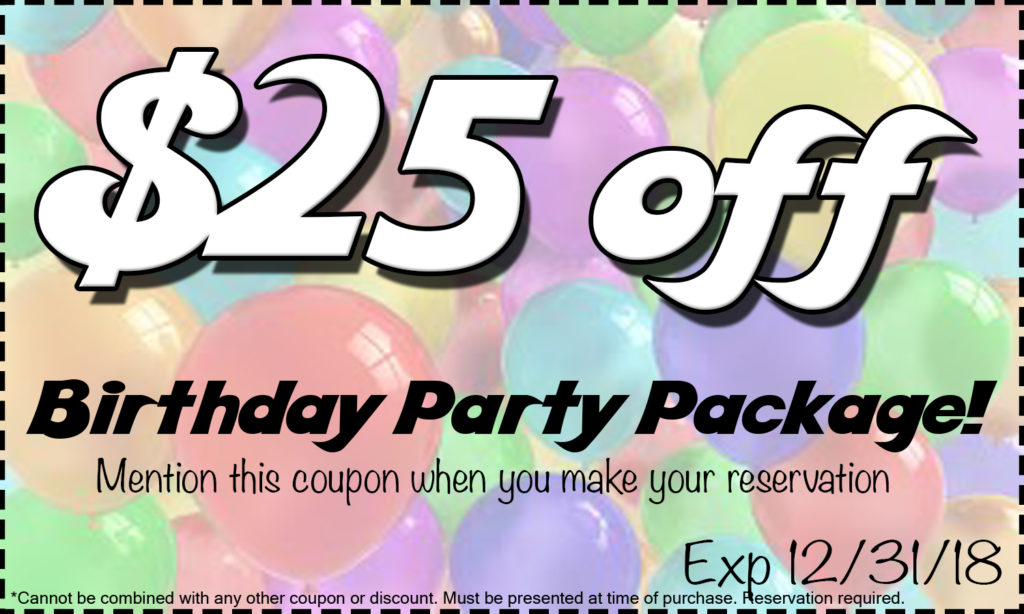 Party Package Coupon