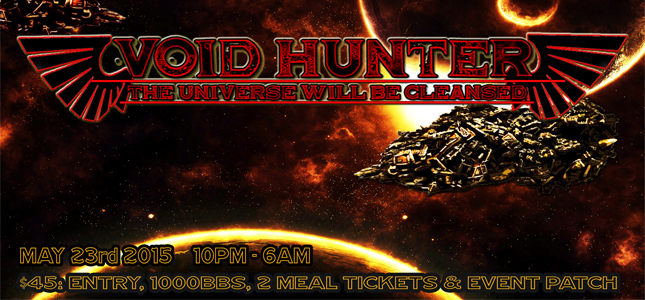 Register today for our 13+ Fables Void Hunter overnighter!