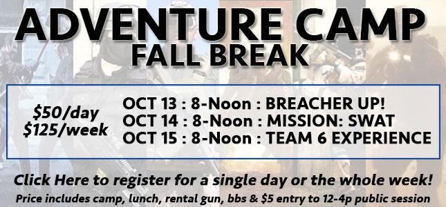 Fall Break Adventure Camp