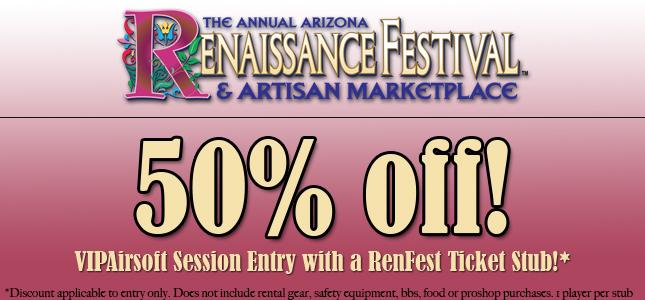 2016 Renaissance Festival Ticket Discount