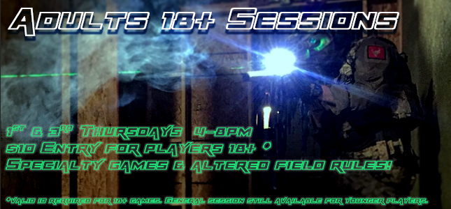 Adults 18+ Session