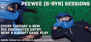 PeeWee (6-9yr) Open Game Play